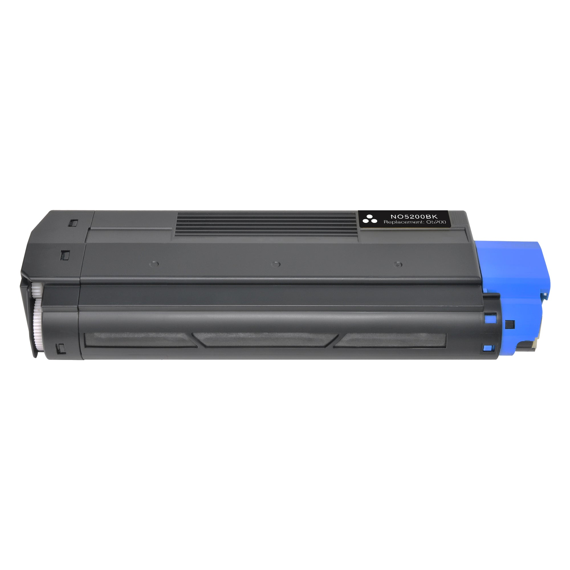 Arthur Imaging Compatible Toner Cartridge Replacement for OKI 5200BK (42127404, Black, 1-Pack)