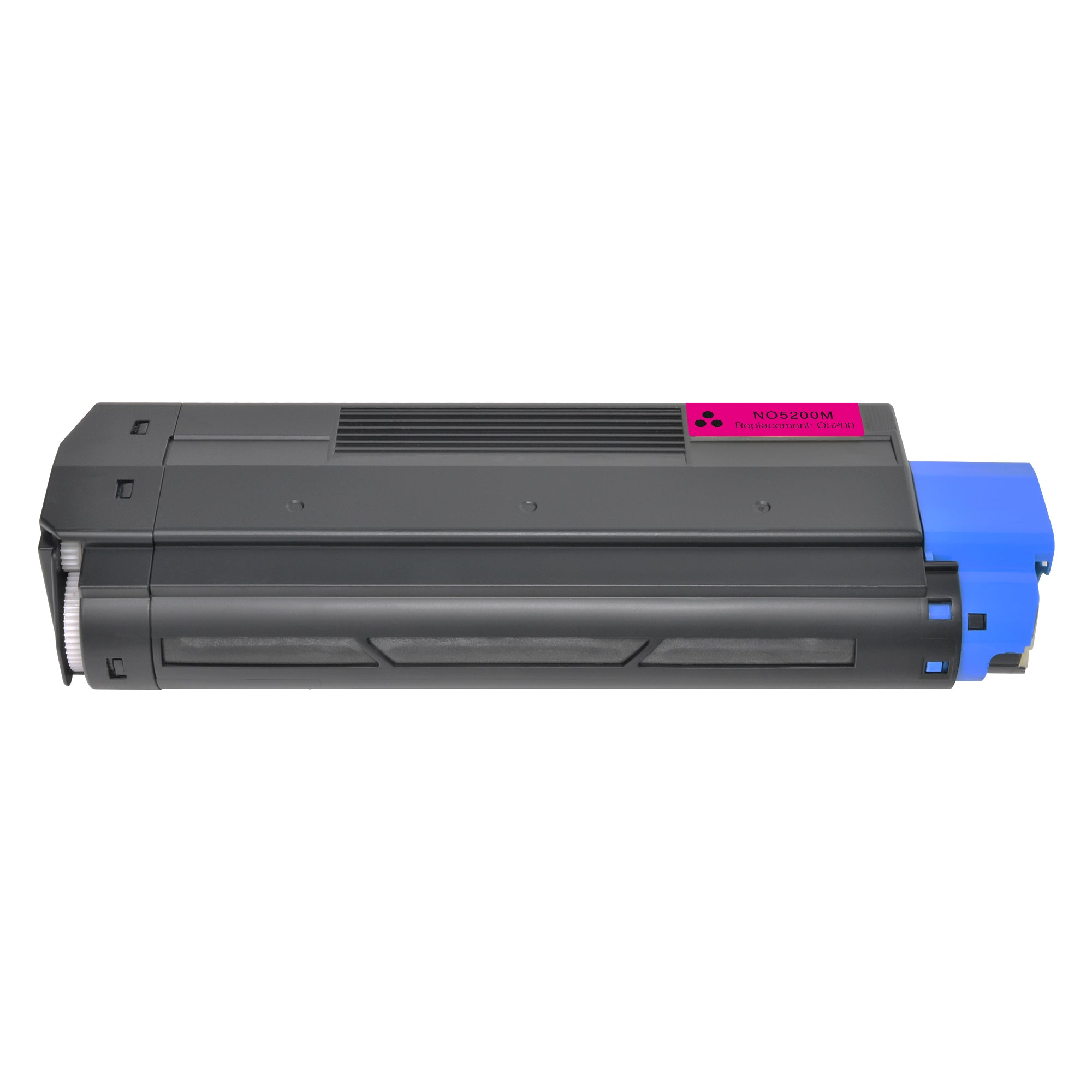 Arthur Imaging Compatible Toner Cartridge Replacement for OKI 5200M (42127402, Magenta, 1-Pack)