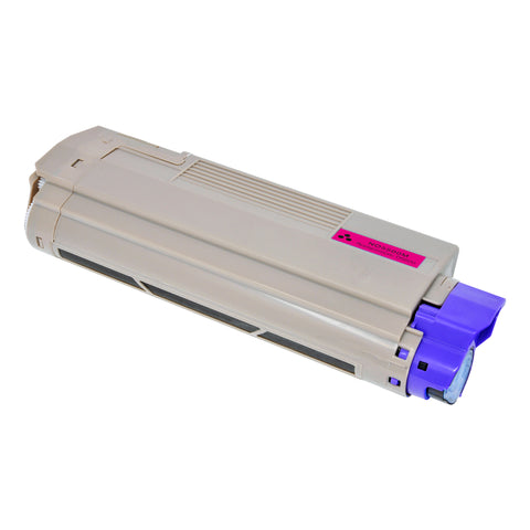 Arthur Imaging Compatible Toner Cartridge Replacement for OKI 5500M (43324402, Magenta, 1-Pack)