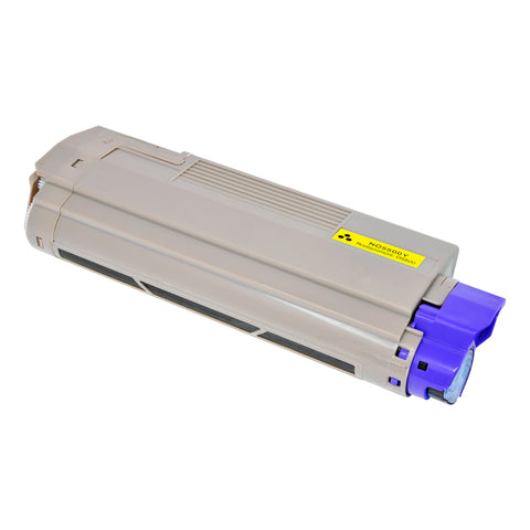 Arthur Imaging Compatible Toner Cartridge Replacement for OKI 5500Y (43324401, Yellow, 1-Pack)