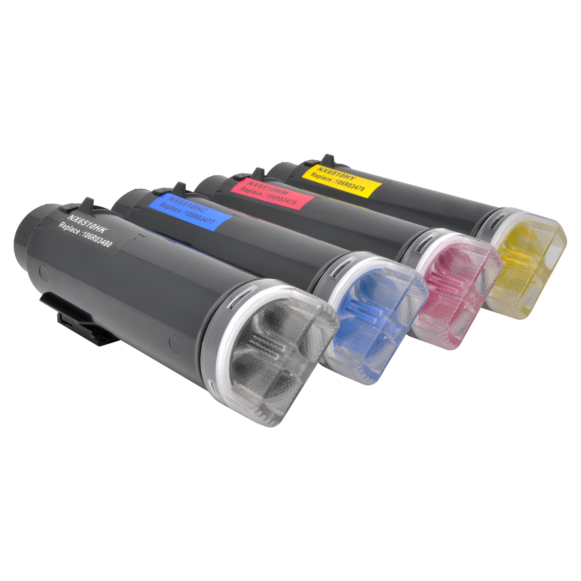 Arthur Imaging Compatible Toner Cartridge Replacement for Xerox Phaser 6510 or WorkCentre 6515 Set (1 Black, Cyan, Magenta, Yellow, 4-Pack)