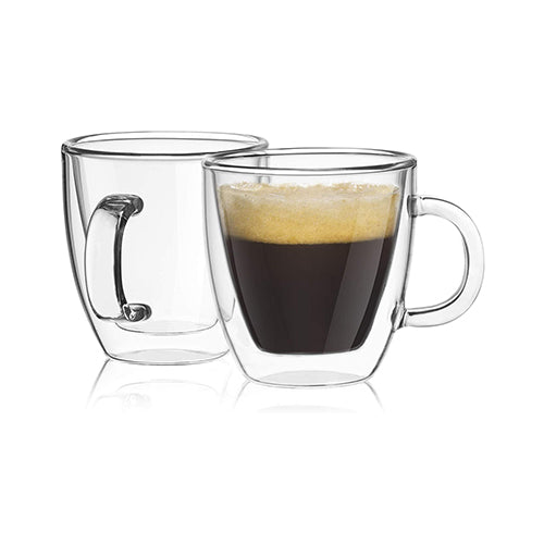 Glasses Mugs (2PK)