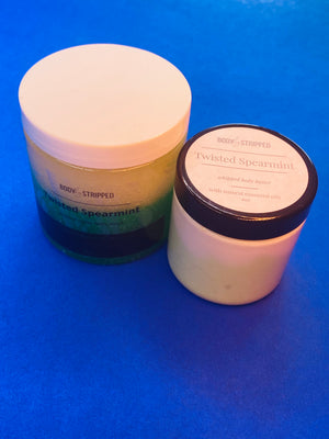 Twisted Spearmint Sugar Scrub & Body Butter