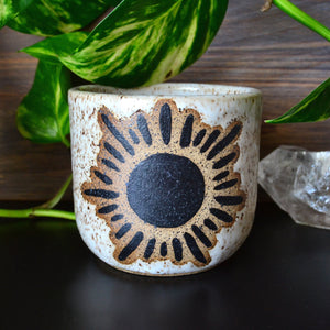 Shining Sun Candle • Marshmallow Glaze • MADE TO ORDER CANDLE