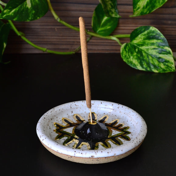 Golden Third Eye • Incense Holder