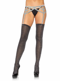 Lurex Garter Belt