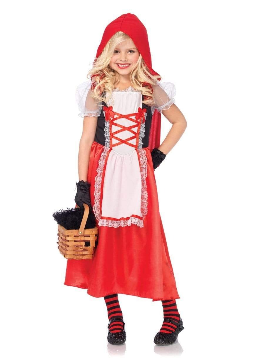 Legavenue Children's 2 PC Red Riding Hood Halloween Costume
