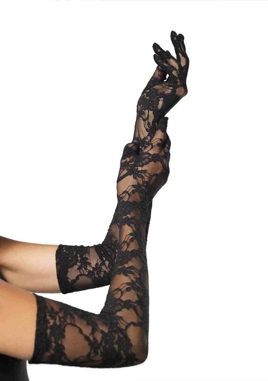 Legavenue Lace Elbow Length Gloves