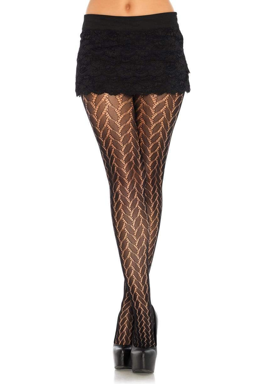 Legavenue Plaited Lace Tights