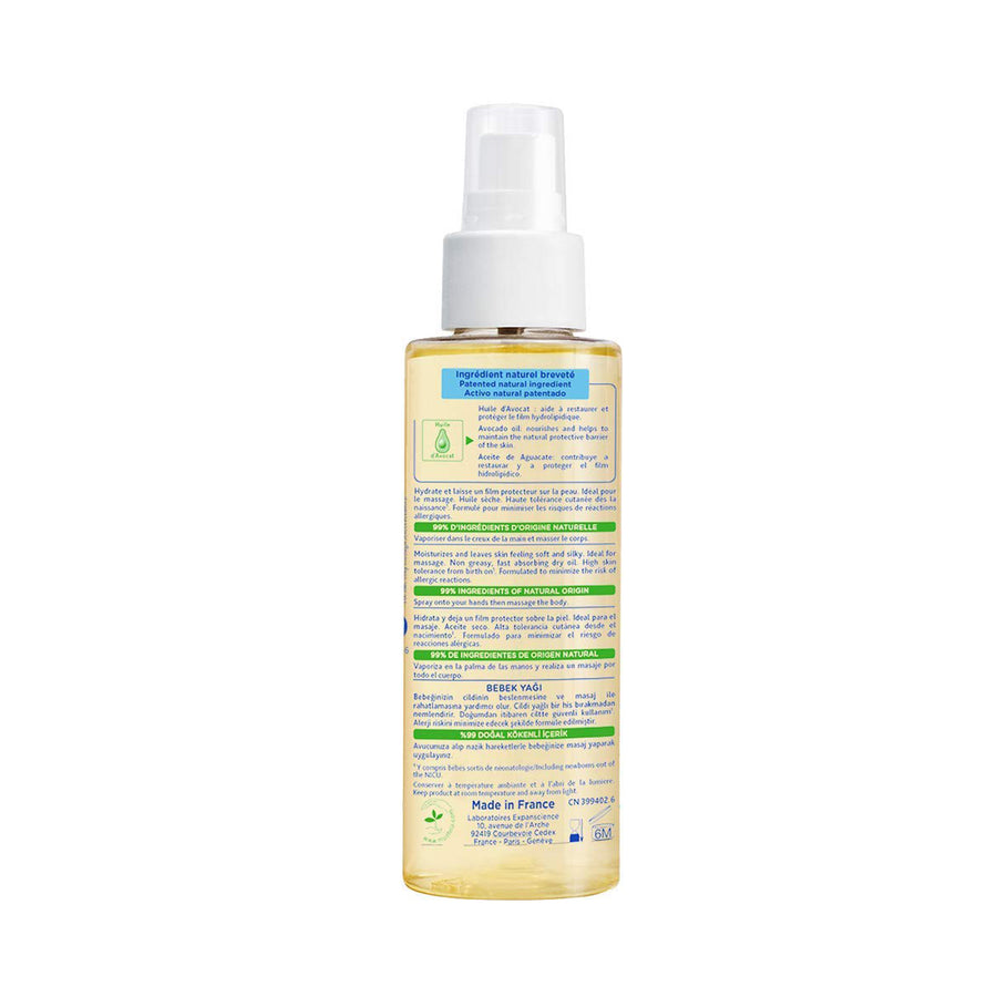 Mustela Baby Oil for Massage 100ml [EXP: 04/2023]