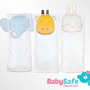 BabySafe Baby - Latex Bambeanie Pillow (with 1 BFF case)