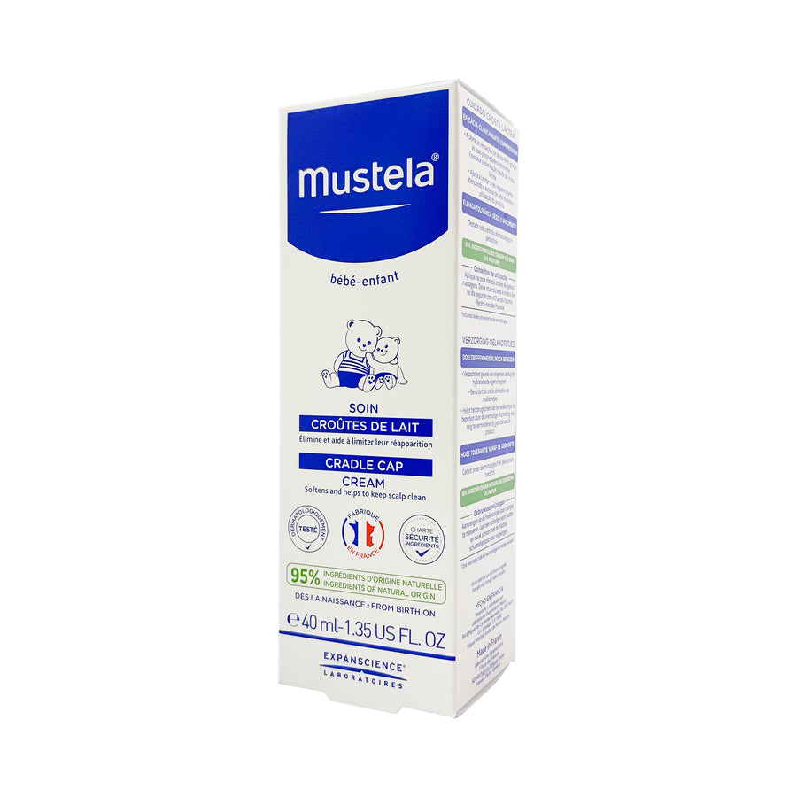 Mustela Cradle Cap Cream 40ml [EXP: 03/2023]