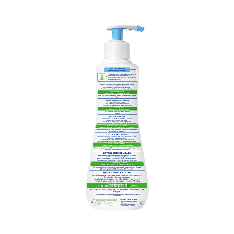 Mustela Gentle Cleansing Gel for Hair & Body 500ml [EXP: 03/2023]