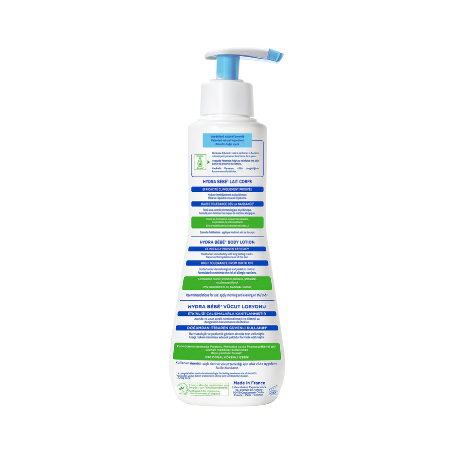 Mustela Hydra Bebe Body Lotion 300ml [EXP: 03/2023]