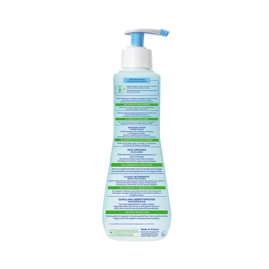 Mustela No-Rinse Cleansing Water 300ml [EXP: 01/2023]