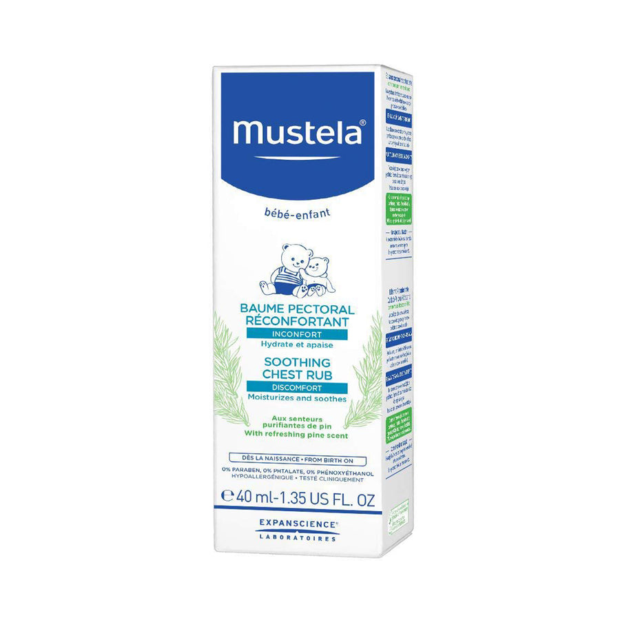 Mustela Soothing Chest Rub 40ml [EXP: 05/2022]