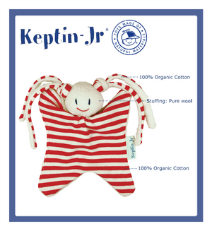 Keptin-Jr Toddels Classic: Girly Red (17cm)