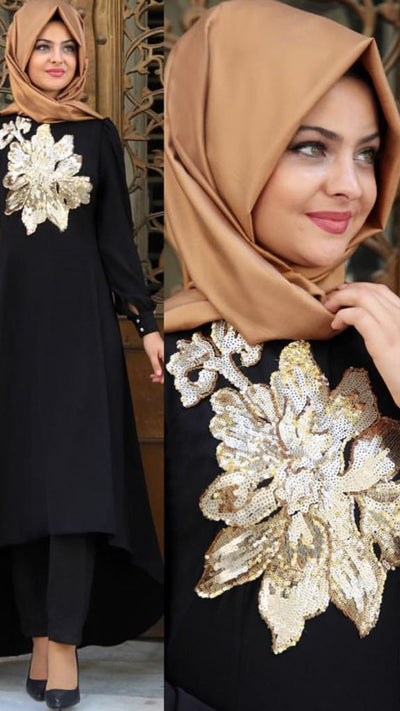 Long Dress - NisaLife - Buy Fashion Muslim Women Clothing, Hijab, Dress Abaya, Scarf, Shawl, Headscarf