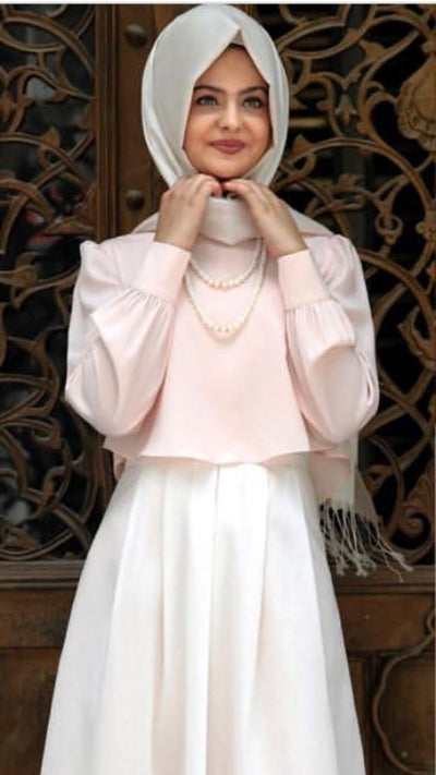 Blouse Pink - NisaLife - Buy Fashion Muslim Women Clothing, Hijab, Dress Abaya, Scarf, Shawl, Headscarf