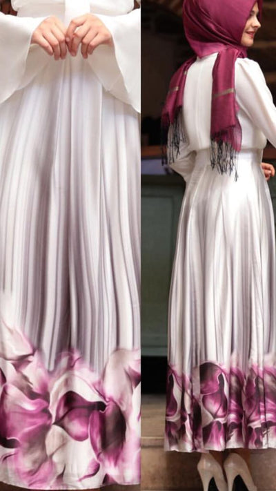 Summer Skirt Pink - NisaLife - Buy Fashion Muslim Women Clothing, Hijab, Dress Abaya, Scarf, Shawl, Headscarf