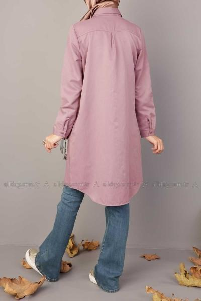 Rose Point Collar - Shirt Dress - NisaLife - Buy Fashion Muslim Women Clothing, Hijab, Dress Abaya, Scarf, Shawl, Headscarf