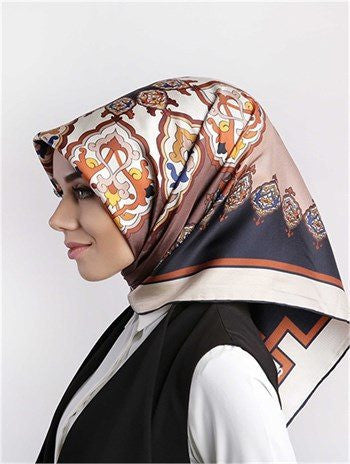 Levidor Twill Silk Scarf - Ethnic  - NisaLife - Buy Fashion Muslim Women Clothing, Hijab, Dress Abaya, Scarf, Shawl, Headscarf