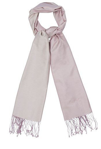 Aker 100% Silk Hijab Shawl with Swarovski Stones-Dusty Pink & Ecru - NisaLife - Buy Fashion Muslim Women Clothing, Hijab, Dress Abaya, Scarf, Shawl, Headscarf