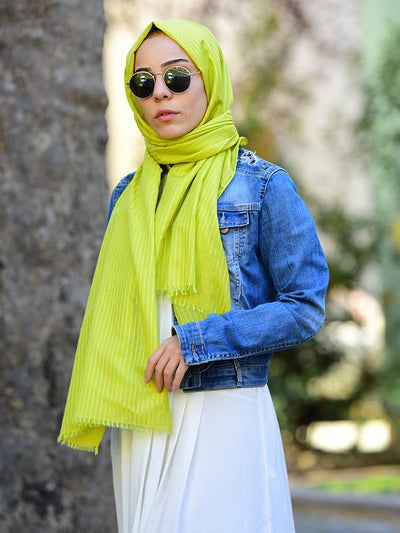 Argite Cotton  Hijab Shawl - Linden - NisaLife - Buy Fashion Muslim Women Clothing, Hijab, Dress Abaya, Scarf, Shawl, Headscarf