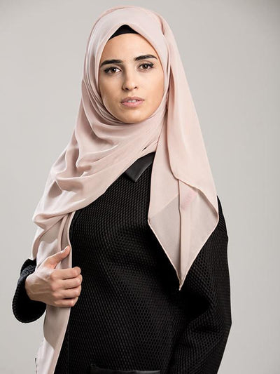 Argite Alya Chiffon Hijab Shawl - Powder Pink - NisaLife - Buy Fashion Muslim Women Clothing, Hijab, Dress Abaya, Scarf, Shawl, Headscarf