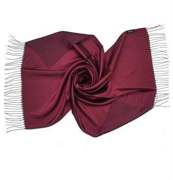 Sarar Taffeta Hijab Shawl - Burgundy & Maroon - NisaLife - Buy Fashion Muslim Women Clothing, Hijab, Dress Abaya, Scarf, Shawl, Headscarf