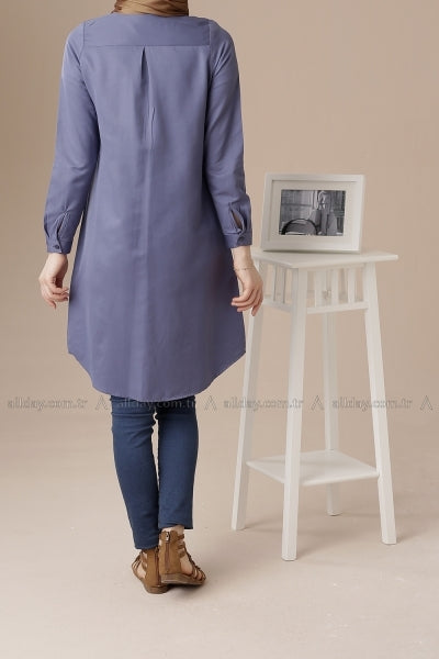 Indigo - Tunic - NisaLife - Buy Fashion Muslim Women Clothing, Hijab, Dress Abaya, Scarf, Shawl, Headscarf