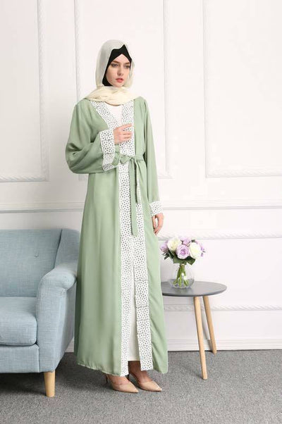 open abaya - NisaLife - Buy Fashion Muslim Women Clothing, Hijab, Dress Abaya, Scarf, Shawl, Headscarf