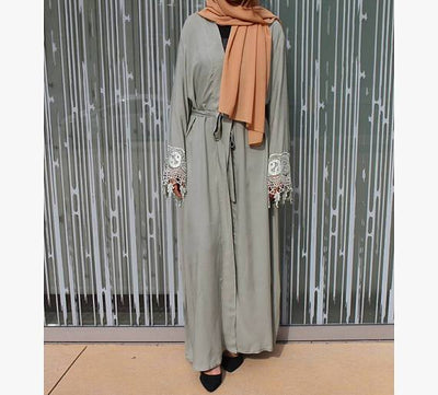 Ameerah Abaya - NisaLife - Buy Fashion Muslim Women Clothing, Hijab, Dress Abaya, Scarf, Shawl, Headscarf