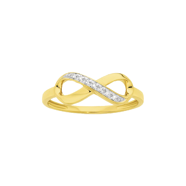 9ct Bow Shaped Dress Ring