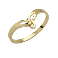 9ct Gold Trinity Knot Ring