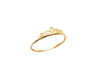 9ct Gold Crown Ring