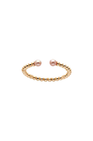 9ct Adjustable Pearl Ring