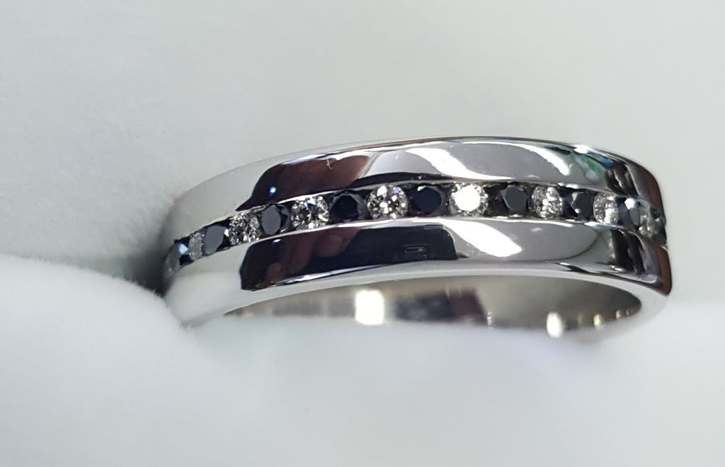 Ladies 18ct White Gold Wedder
