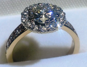 Custom Enabled Engagement Ring