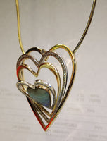Heart multi pendant