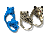 Tiger Ring in CAD