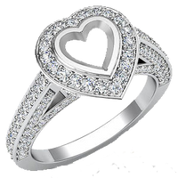 HEART SHAPED ENGAGEMENT