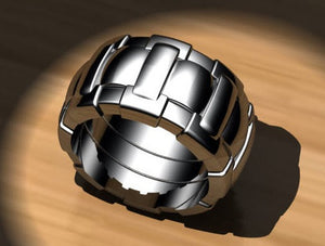 Link Style Concept Ring