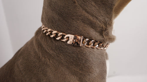 Rose Gold Miami Cuban Clasp