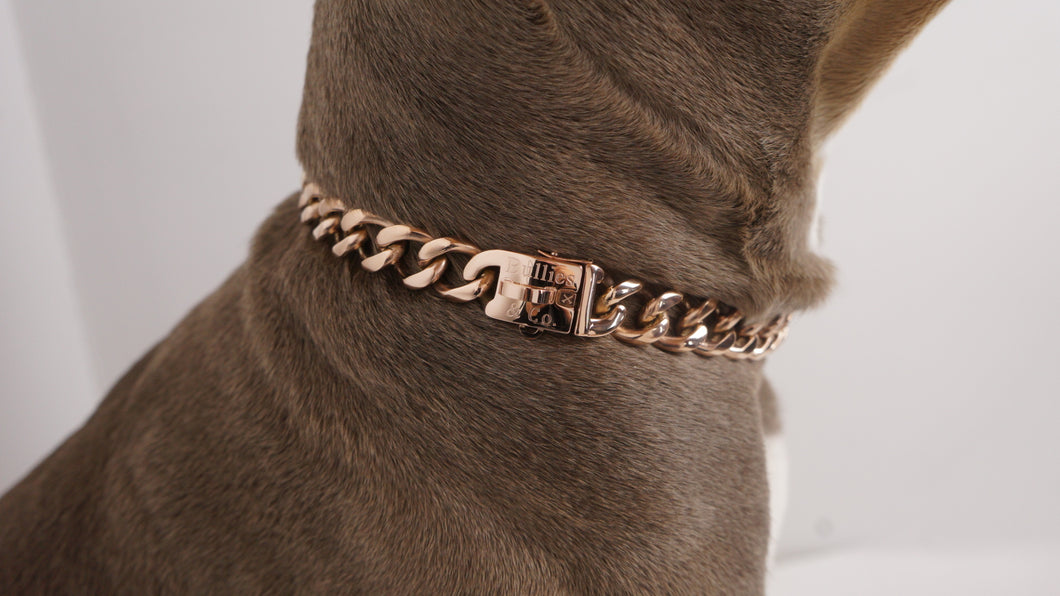 Rose Gold Miami Cuban Clasp - Bulliesandco