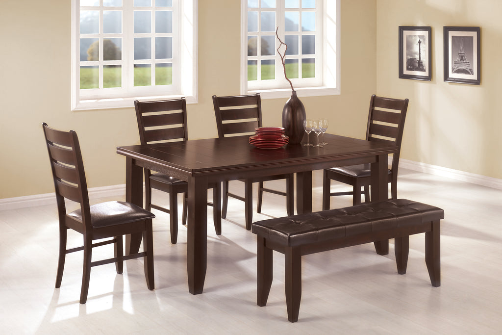 Dalila Dining Table 6pc Set