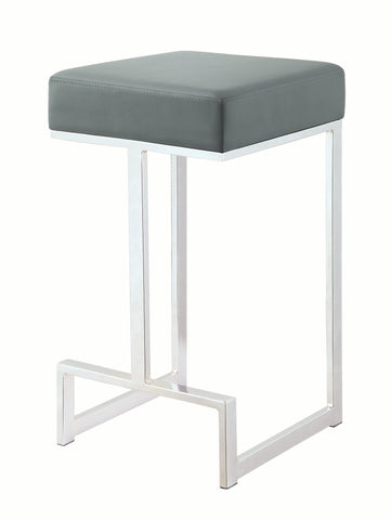 Image of Nyon Counter Height Stool in Grey