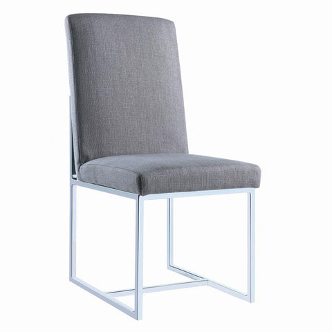 Image of Mackinnon Side Chair, Grey
