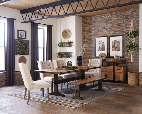 Image of Burnham Live Edge Dining Table