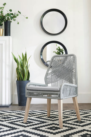 Asbury Dining Chair in Grey (Pack Of 2)